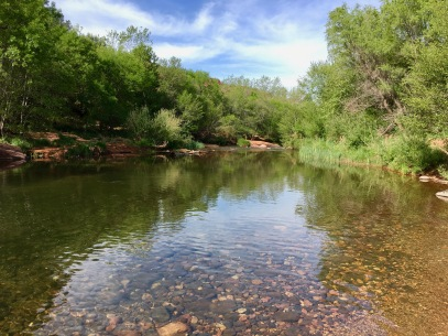 Hiking around Sedona
