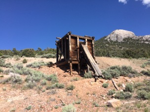 old mines near great basin campsite