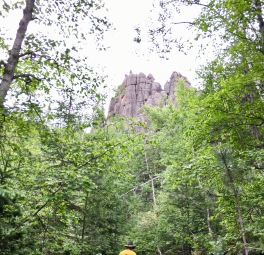 Wonderful views of the Cathedral Rock Formations.