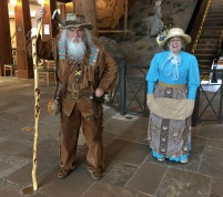 greeters at arches museum