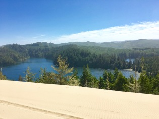 lake view from oregon dunes