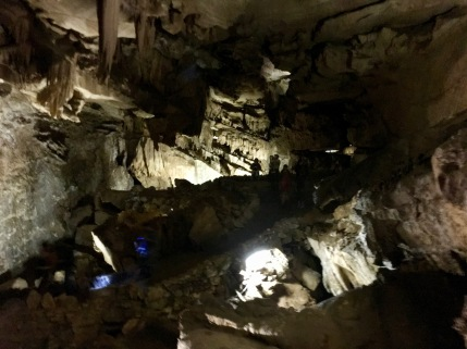 crystal cave tour and hike