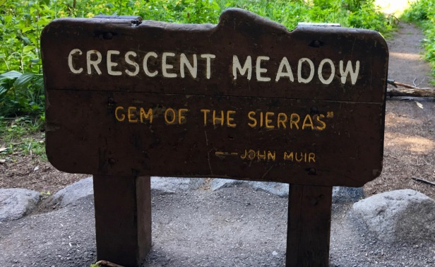 crescent meadows hike