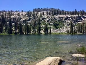 hiking to weaver lake
