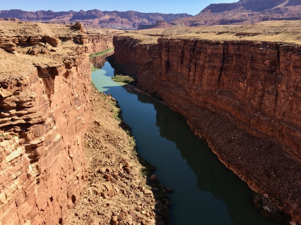 colorado river in marble canyon