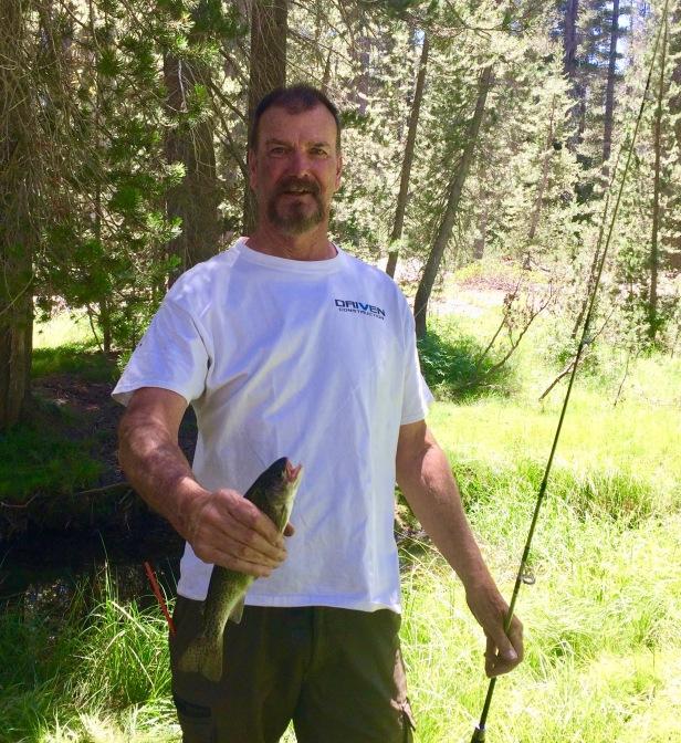 tom caught fish