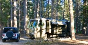campsite in big meadows