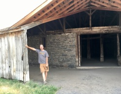 Malheur Wildlife area tour - roundbarn