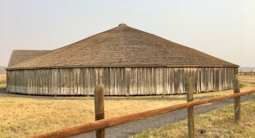 Malheur Wildlife area tour roundbarn