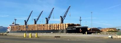 lumber shipment port astoria