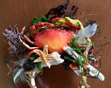 craft project - crab queen crown tiarra