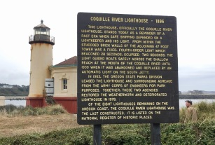 coquille river lighthouse near bandon