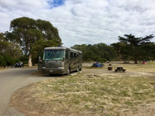 campsite in Pismo Beach