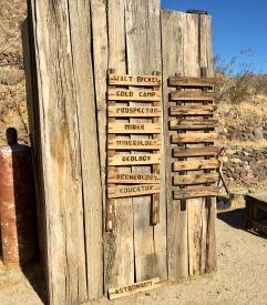 bickels cabin in desert