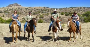 Horseback Ride at Prude Ranch in Ft Davis TX